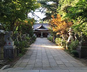 大宝八幡宮 参道