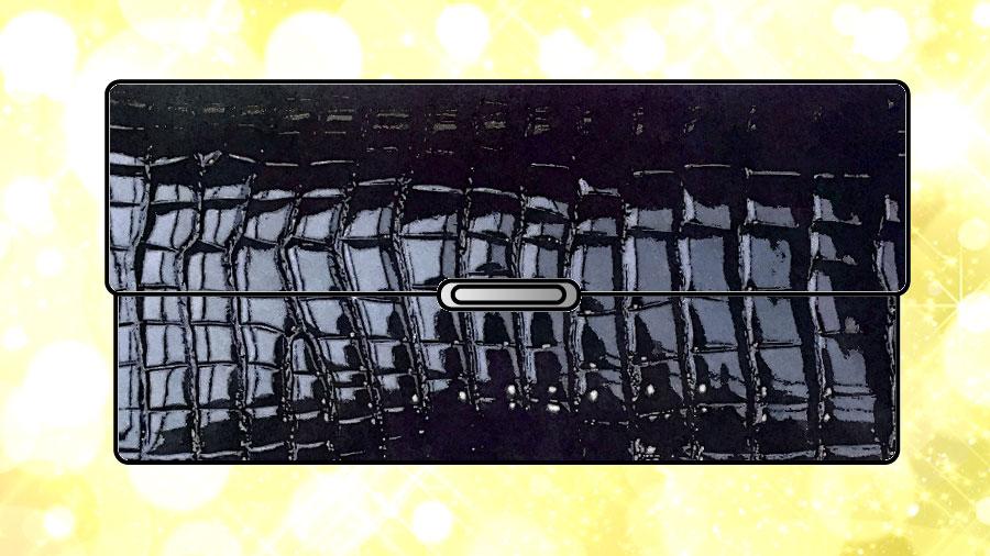 ワニ革(クロコダイル)の財布