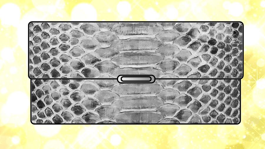 ヘビ革(パイソン)の財布
