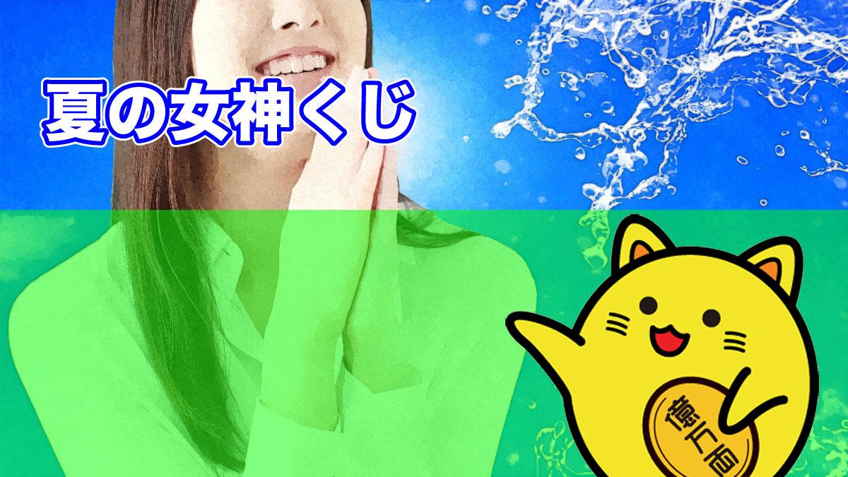 関東・中部・東北自治宝くじ(夏の女神くじ)当選番号